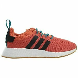 san francisco 60cac 83fc8 adidas NMD R2 Summer Mens Cq3081 Trace Orange Knit Boost Running Shoes Size  8