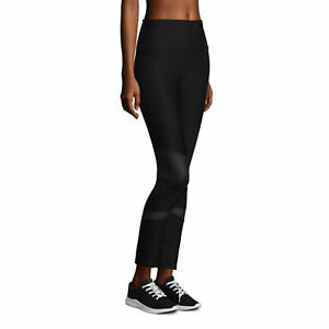 BRAND NEW W TAGS High Rise 7/8 Mesh Inset Moto Leggings $20 RETA