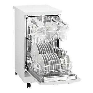 RCA Portable 18in Dishwasher - White - ONLY $300 NO TAX DEAL