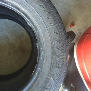 Two GoodYear winter tires 215/65/16 Gatineau Ottawa / Gatineau Area image 3