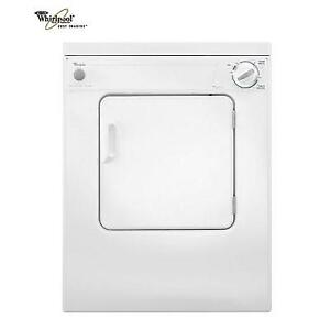 USED* WHIRLPOOL 3.4 Cu.Ft. DRYER LDR3822PQ 160124204 WHITE ELECTRIC