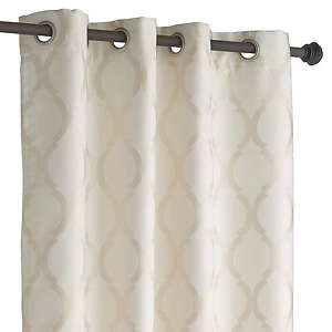New ivory curtain pannel - rideau neuf 50x 108 Pier1