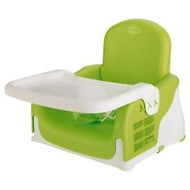 Used Munchkin adjustable booster seat - offers welcome