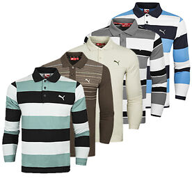 Puma Long-sleeve Polo Shirts