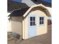 Deluxe Dutch Cottage Log Cabin