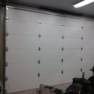 Pair of 16' X 10' garage doors