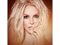 Britney Spears Manchester 18th August x2 seated tickets selling at face value