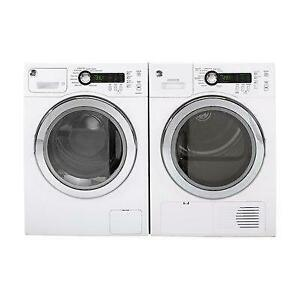24 INCH WIDE APARTMENT SIZE/SMALL SIZE/CONDO SIZE FRONT LOAD WASHER AND DRYER SET!