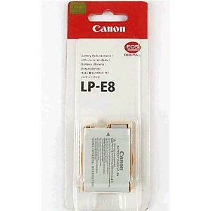 Genuine CANON LP-E8 BATT. PACK (T5I/T4I/T3I/T2i) / new condition