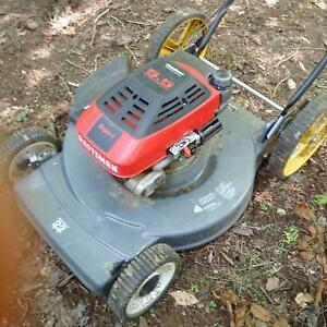 5.5 hp lawn mower