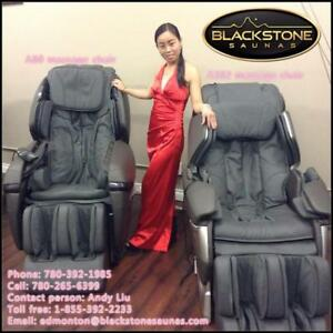 Edmonton Panasonic OEM factory produced Blackstone sauna Massage chair on sale!