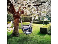 Swing chair blue (new)
