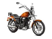 New Lexmoto Michigan 125, 2 Year Parts Warranty and Finance Available!