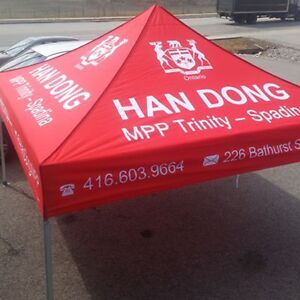 Outlet Tags Custom Canopy Tent Packages ONLY $599.99 Gatineau Ottawa / Gatineau Area image 6