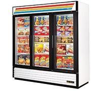 True 3 Door Freezer