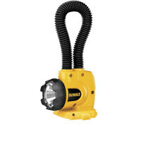 DeWALT 18v Flashlight Floodlight DW919 Flexible Snake Work Light