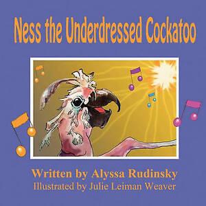 NEW Ness the Underdressed Cockatoo by Alyssa Rudinsky