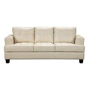 Coaster 501691 Samuel Contemporary Leather Sofa by Coaster