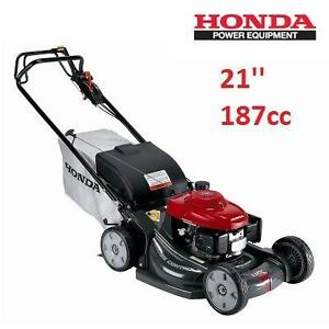 USED* HONDA 21'' GAS LAWN MOWER - 114177304 - 187cc SELF PROPELLED VARIABLE SPEED WALK BEHIND