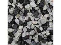 Black Ice 20mm chip/stones/gravel/aggregate