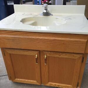 Vanity buy or sell bath bathware in calgary kijiji for Bathroom cabinets kijiji