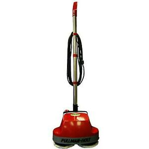 Gloss Boss Polisher Scrubber 3 Wire 18' Cord Red 90 Day Warranty Scrubbing Brushes Microfirber Pad Carpet Bonnets And Fe