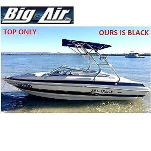 NEW SUPER SHADOW BIMINI TOP 244325118 SPEED BOAT JET BLACK