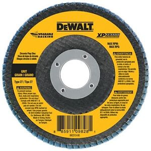 dewalt DW8224 6-Inch by 7/8-Inch Z80 Type 27 Wearable Backing