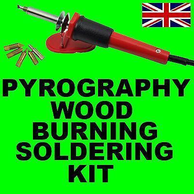Woodburning Kit Crafts Ebay