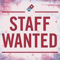 NOW HIRING! DOMINO'S DRIVERS