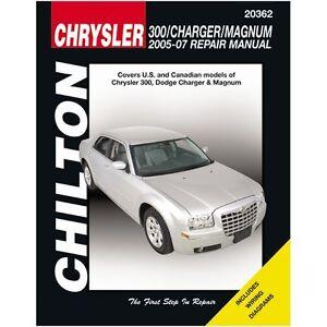 chrysler 300 repair manual ebay. Black Bedroom Furniture Sets. Home Design Ideas