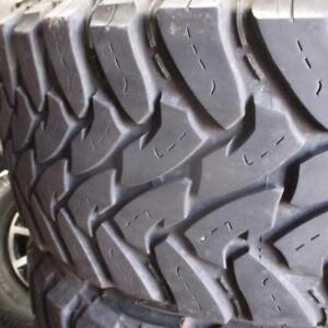 TOYO M/T OPEN COUNTRY LT35X12.5R20 10 PLY TIRES 85% TREAD