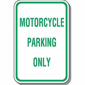 Motorcycle Parking Downtown  35$/mth