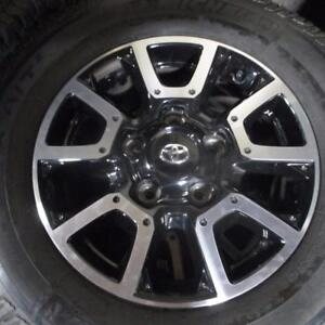 "18"" TOYOTA BLACK ALLOY RIMS / WHEELS 5X150 BOLT PATTERN"