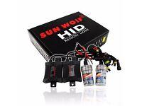 Brand New 55W Hid Kit Xenon Conversion Kit Headlights Canbus H7 6000k