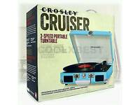 CROSLEY CRUISER TURNTABLE AS NEW BOXED