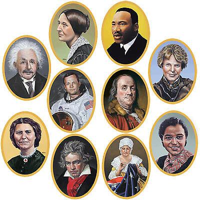 Graduation Face Cutouts (Faces In History Cutouts)