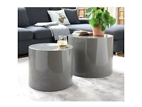 DWELL pair of side tables