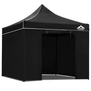3x3 Pop Up Gazebo Hut with Sandbags Black Sydney City Inner Sydney Preview