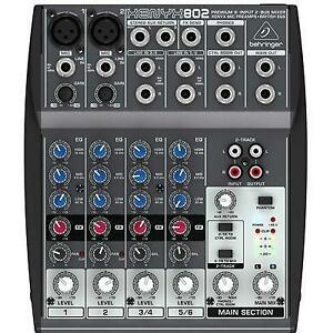 Behringer XENYX 802 8-channel Mixer