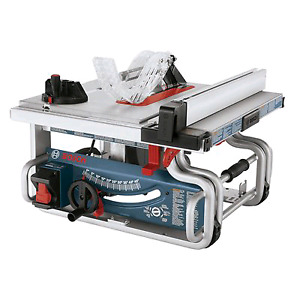 Bosh table saw with stand