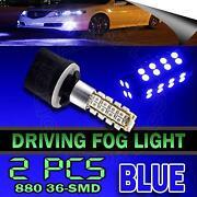 Blue LED Fog Lights