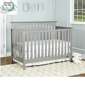 NEW* DREAM ON ME BABY CRIB 6655 225439251 DAVENPORT CONVERTIBLE 5 IN ONE