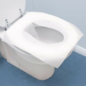Toilet Seat Liners-BIODEGRADABLE-New Box Of 250 Sheets