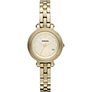 Fossil Heather Mini Three Hand Stainless Steel Watch