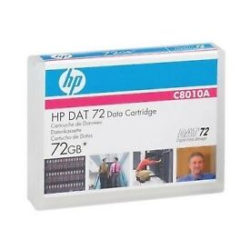BRAND NEW HPC8010A HP DAT72 Data Cartridge Blue 170M 72GB C8010A HP C8010 SEALED
