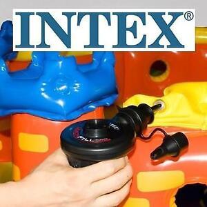 NEW INTEX QUICK FILL ELECTRIC PUMP 66619E 183282259 110-120 VOLT MAX AIR FLOW 21.2CFM