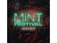 2 X Mint Festival Tickets