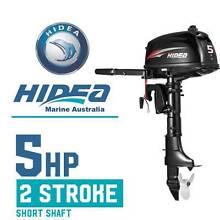 Outboard Boat Motor 5hp 2 Stroke Short Shaft 5F HIDEA Marine Altona North Hobsons Bay Area Preview