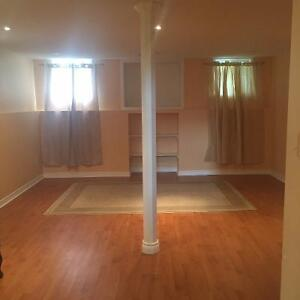 Basement Apartment For Rent.